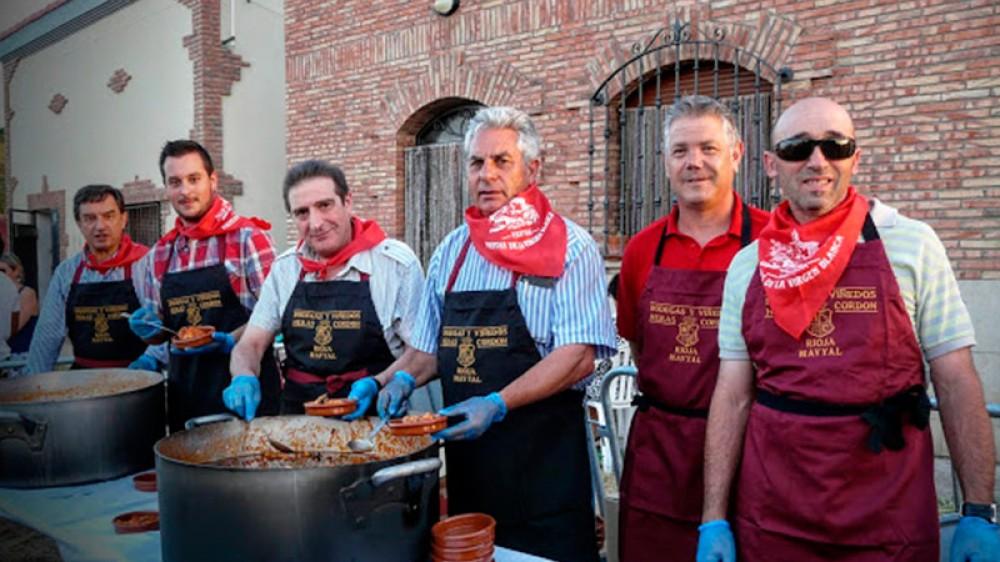 Degustación de productos de La Rioja