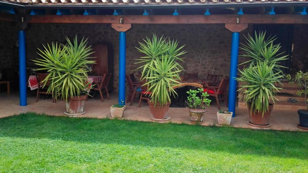 Jardín del Hotel Las Aguedas
